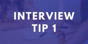 Teaching Interview Tip 1